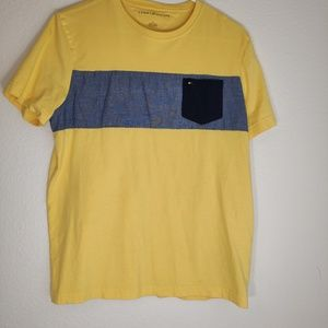 TOMMY HILFIGER YELLOW SHIRT